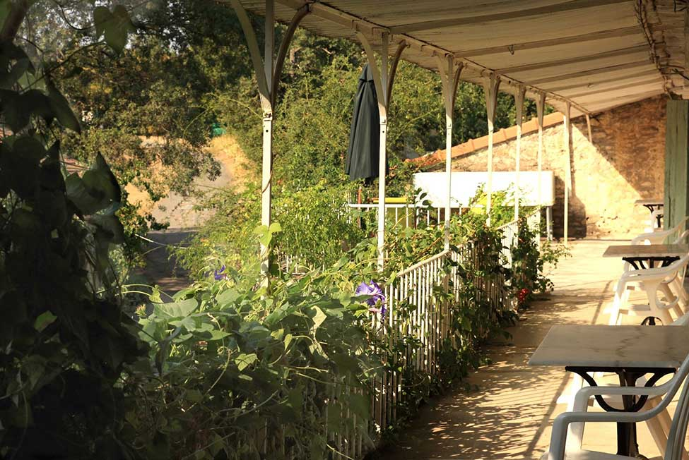 balcon chambre hote ales - Bed and Breakfast near Anduze with pool  | Les Hirondelles