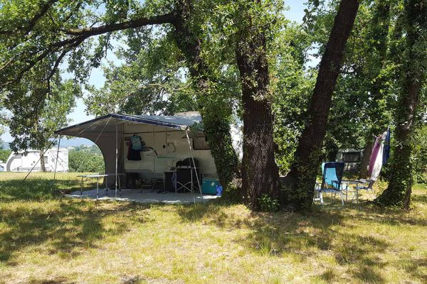 Quiet rural camping near Alès Cevennes