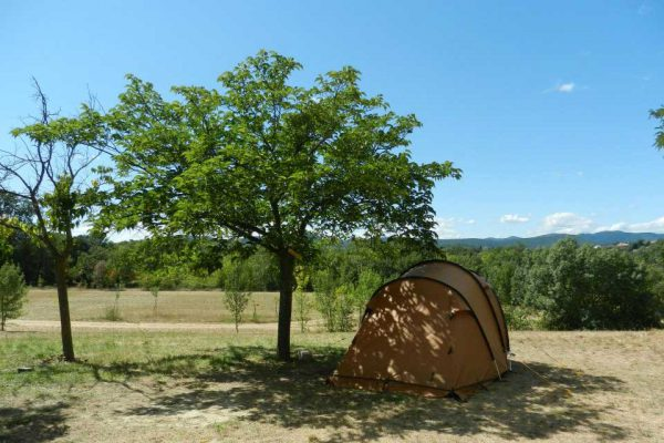 Farm campsite near the Cevennes