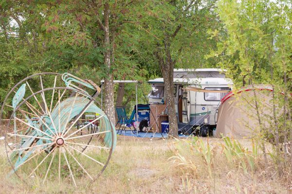 Farm camping in Cevennes south of France