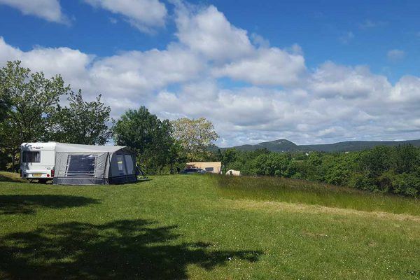 Small quiet campsite with view in Cevennes France