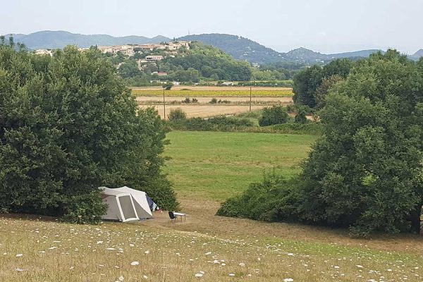 Small quiet campsite in Alès Cevennes