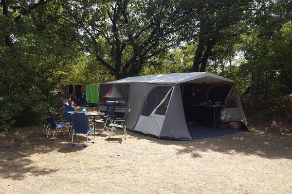Rural camping in Cevennes France