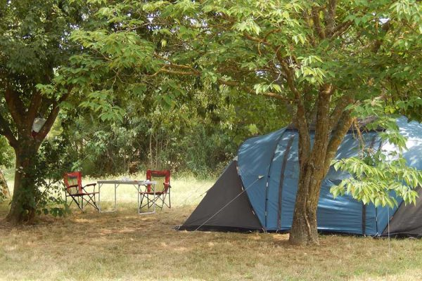 Small rural camping in the Gard Cevennes