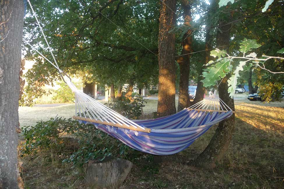 hamac camping cevennes - Small campsite in France with pool