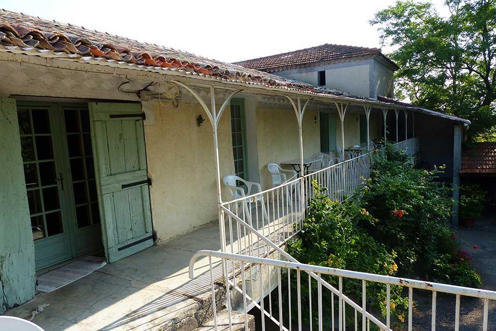 maison hote ferme cevennes - Chambre d'hote Gard avec piscine | Les Violettes