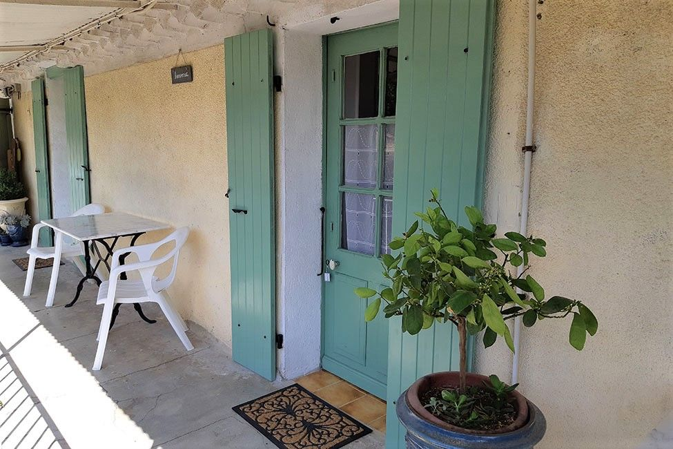 chambre balcon hirondelles - Bed and Breakfast near Anduze with pool  | Les Hirondelles