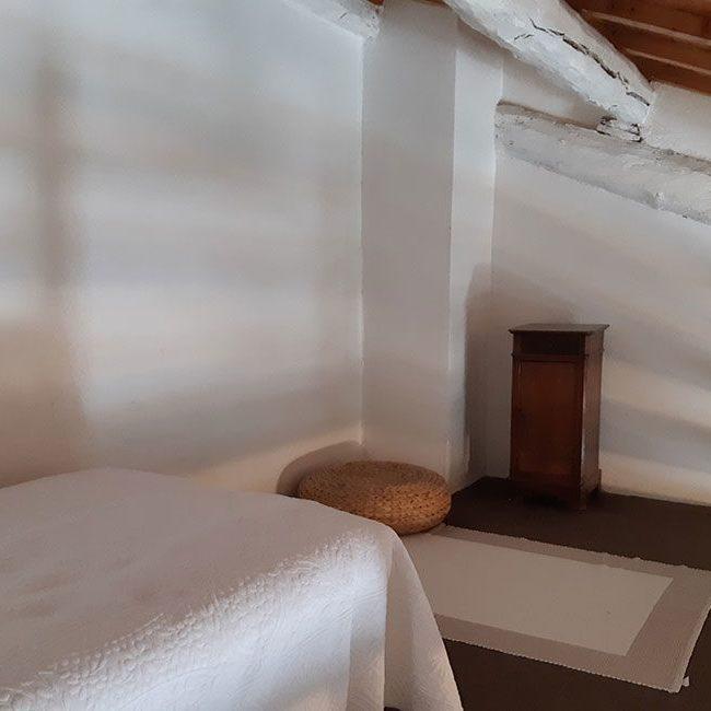 Mezzanine de la chambre d'hôte familiale Cigales