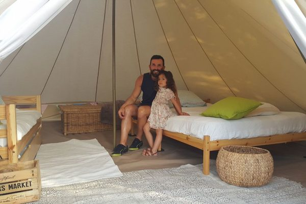 location tente 600x400 - Glamping South of France | Bell tent | Safari tent