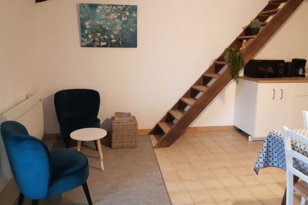 chambre hote salon 600x400 - Chambre d'hotes Cevennes