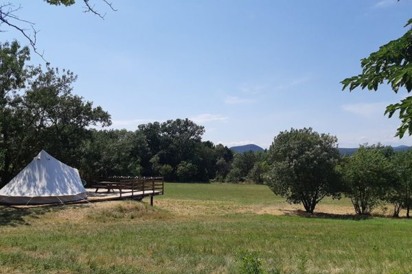 tente tipi aire naturelle 600x400 - Glamping South of France | Bell tent | Safari tent