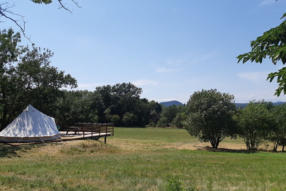 tente tipi aire naturelle - Tente ecolodge France| Tente tipi | Glamping Cevennes