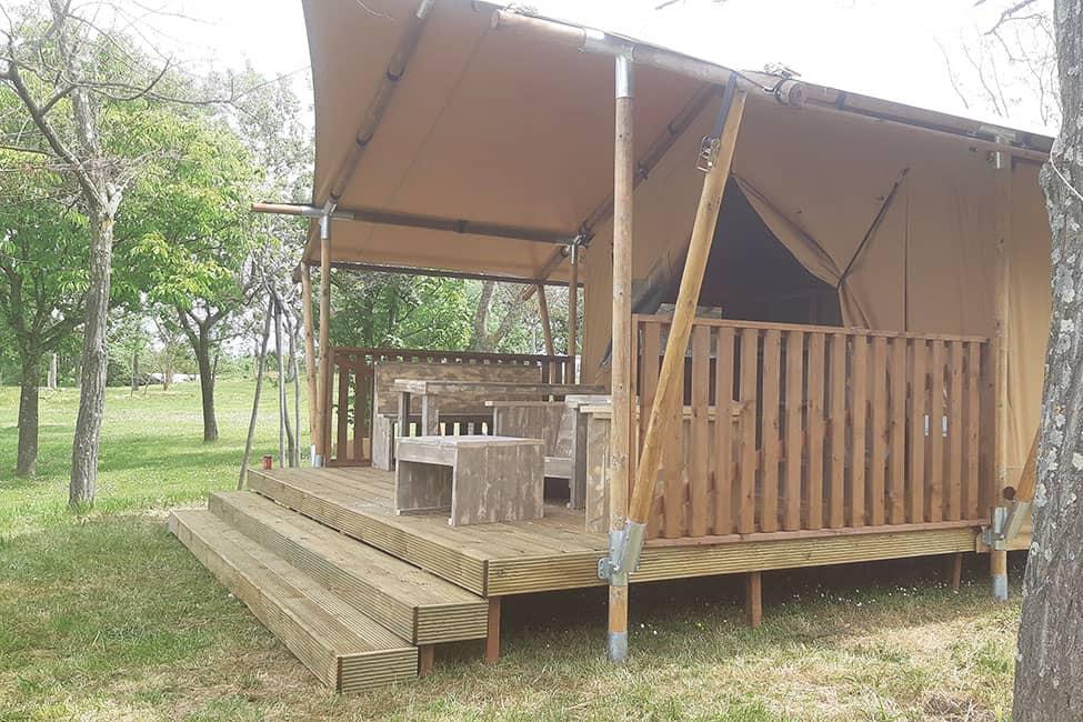 safaritent cevennes - Tente ecolodge France | Tente tipi | Glamping Cevennes